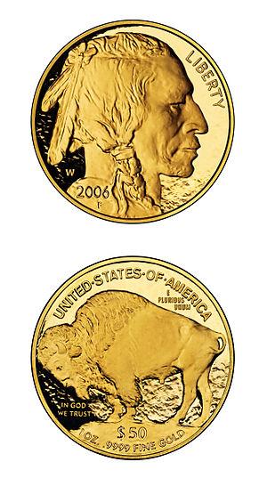 American buffalo proof vertical edit